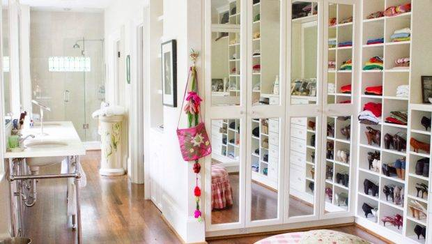 Master Bath Mirrored Walk Closet Vogue Contributor
