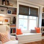 Master Bedroom Built Bookcases After Styling Twoinspiredesign
