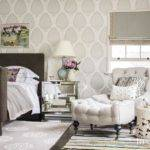 Master Bedroom Chair Ottoman Transitional