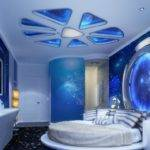 Master Bedroom Designs Space Theme Stretch Ceiling