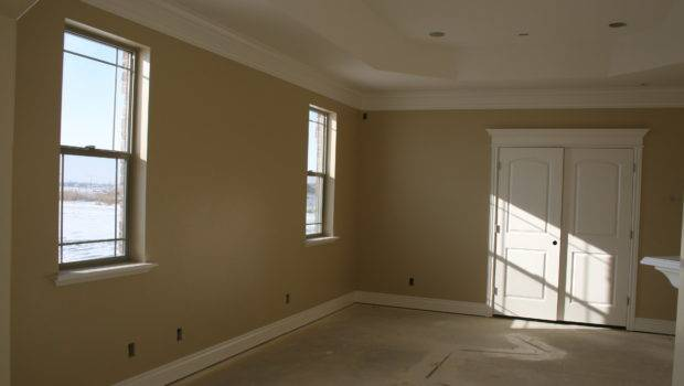 Master Bedroom Paint Mantle Coffered Ceiling