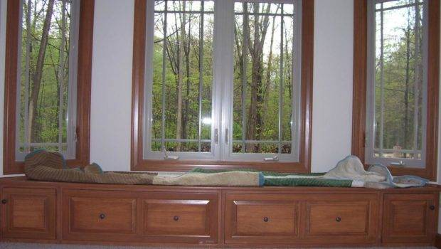 Master Bedroom Window Seat Diy