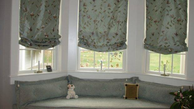 Match Window Treatments Seats Relaxing Sunny Place