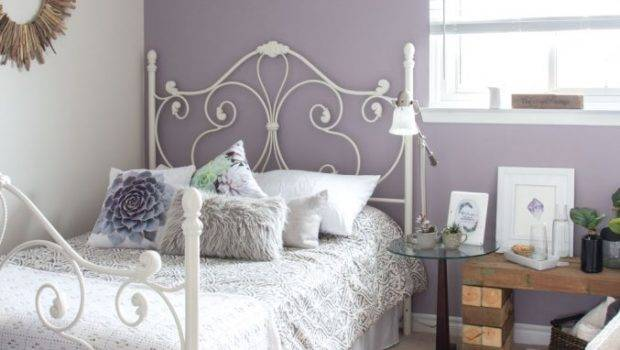 Mauve Lous Guest Bedroom Ideas Simple Spare Room