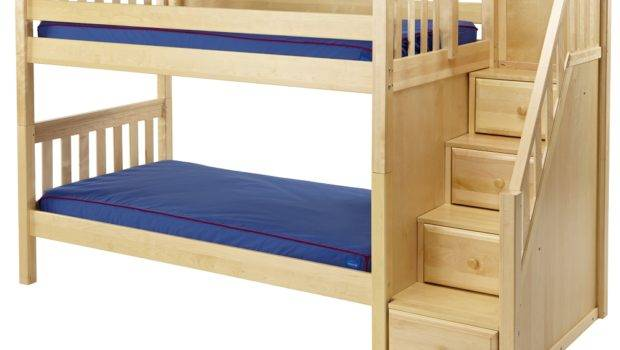 Maxtrix Low Bunk Bed Staircase End