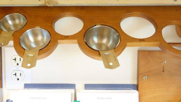 Measuring Cup Rack Angled Degrees Wall Might