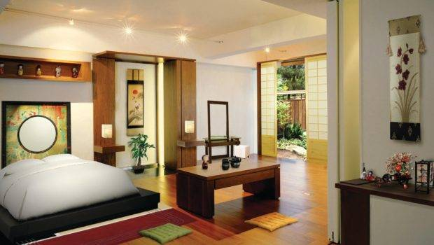 Melokumi Japanese Style Bedroom Design