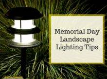 Memorial Day Lighting Tips Landscape Jupiter