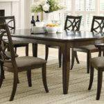 Meredith Contemporary Piece Dining Room Table Chairs Set