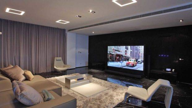 Mesmerizing Living Room Theater Decorating Ideas Small House