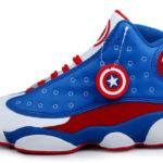 Michael Air Jordan Captain America Basketball Shoes Available
