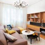 Mid Century Inspired Apartment Modern Geometric Accents