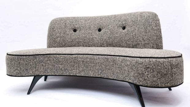 Mid Century Kidney Shaped Sofa Stdibs