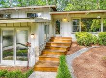 Mid Century Modern Homes Plans Exterior House
