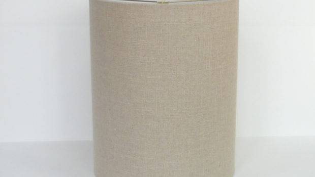 Mid Century Modern Linen Drum Lampshade Lampshadedesigns