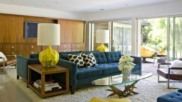Mid Century Modern Living Room Colors Awesome