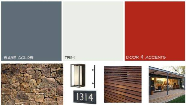 Mid Century Modern Paint Colors Exterior Pinterest