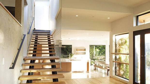 Mill Valley Contemporary Split Level Staircase Master