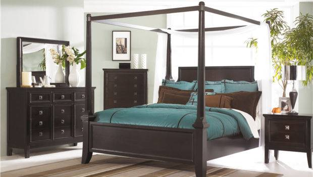 Millennium Bedroom Cal King Poster Bed Canopy