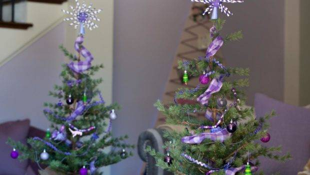 Mini Christmas Tree Ideas Easy Crafts Homemade Decorating Gift