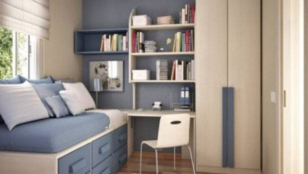 Minimalist Bedroom Design Small Rooms Home Combo