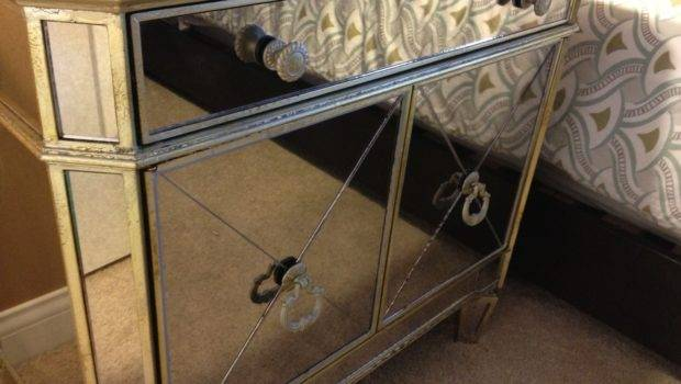 Mirrored Side Tables Gallerie