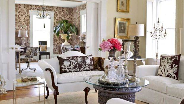 Mix Chic Beautiful Living Rooms