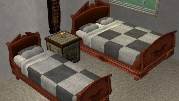 Mod Sims Masculine Bedding Set