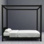 Mod Sims Modern Four Poster Double Bed