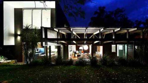 Modern Backyard Home Design Contemporary Roof Decks Shed Architects