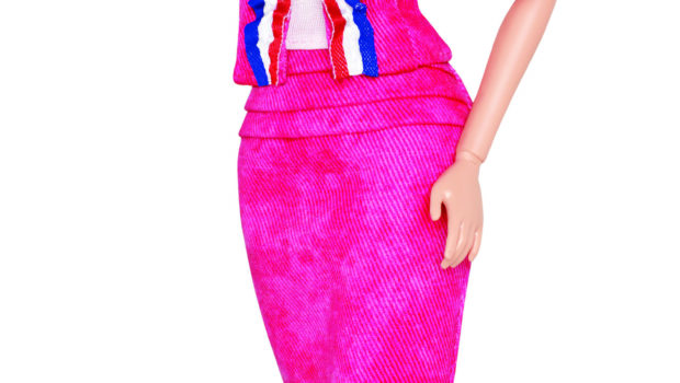 Modern Barbie Doll Clipart