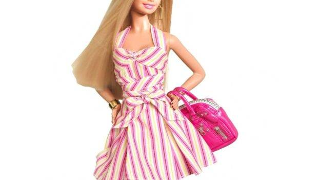 Modern Barbie Doll Wide