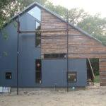Modern Barn Home Nearing Completion Livemodern Your Best