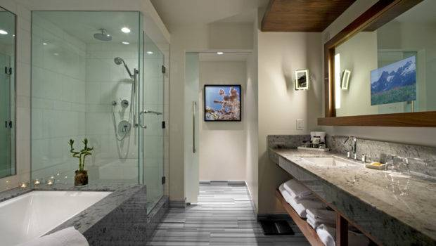 Modern Bathroom Design Blue