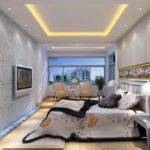 Modern Bed Back Wall Design House