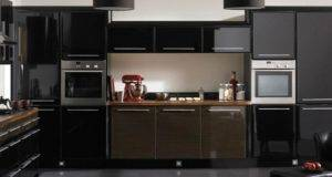Modern Black Kitchen Cabinets Home Design Ideas
