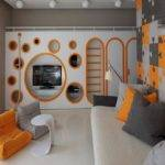Modern Boys Room Set Cool Designs Guys