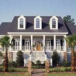 Modern Colonial Style Home Plans