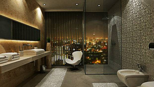 Modern Contemporary Bathroom House Remodeling