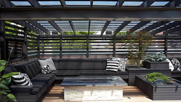 Modern Contemporary Rooftop Terrace Designs Vis Wed