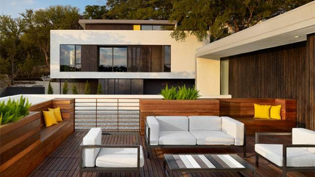 Modern Contemporary Rooftop Terrace Designs