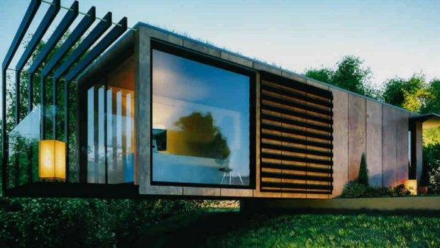 Modern Cool Shipping Container Guest House Decomagz