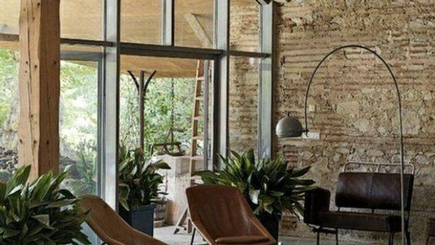 Modern Country Living Rooms Industrial Rustic