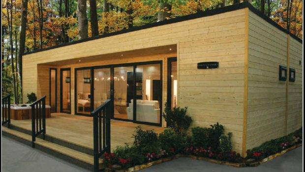 Modern Design Mobile Homes Contemporary Log Living