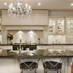 Modern French Country Kitchen Cabinets White Applying Black