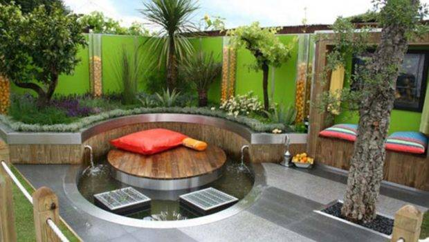 Modern Garden Design Backyard Pool Ideas Olpos