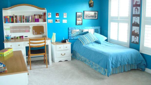 Modern Home Decor Blue Color Wall Paint