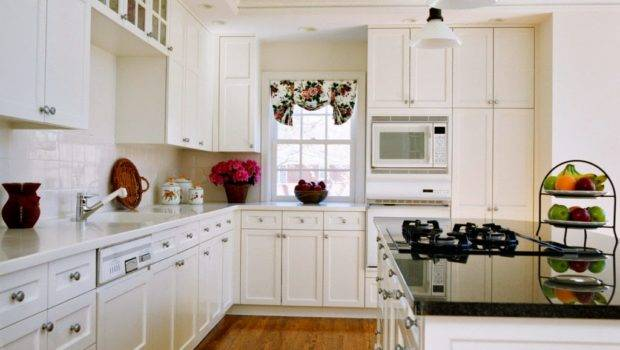 Modern Home Decor White Kitchen Cabinets Design Ideas