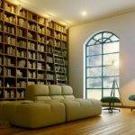Modern Home Library Via Perseverance Design