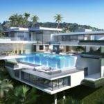 Modern House Mansion Penthouse Three Villas